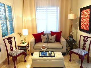 Charming, chic, comfortable urban oasis in Miramar, San Juan