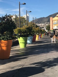 arroyo de la meil town of benalmadena. you will find lovely restraunts,bars shops & railway station.