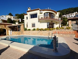 Discounts offered now  5 bedroom villa with great views near the beach