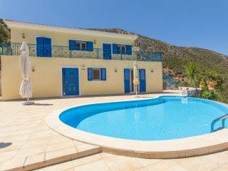 Villa Artemis in Geni, Lefkada Greece. Sleeps 6 – 7 Lift, Wheelchair Access, Vlicho