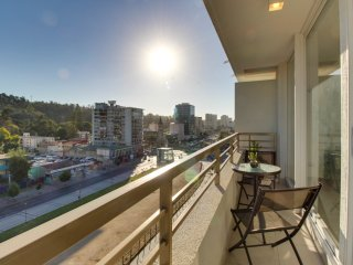 Two private apts. together offer sweeping views, shared hot tub & sauna