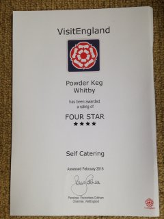 Visit England, high standard 4* Award