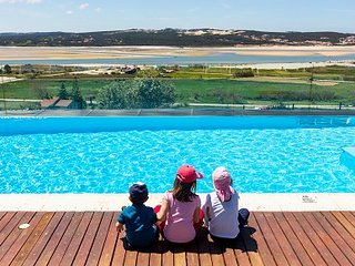 Possibly the best view ever! Wonderful facilities & a magical place for children, Foz do Arelho
