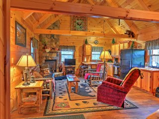 You'll love the rustic feel of the home.