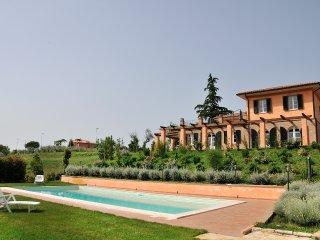 Appartamento in villa con piscina e jacuzzi