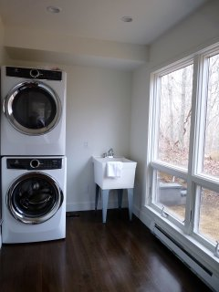 Laundry Room off the mudroom