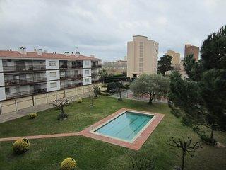 Apartamento 2 hab + altillo. Piscina y Tenis 4 personas (+2), Platja d'Aro