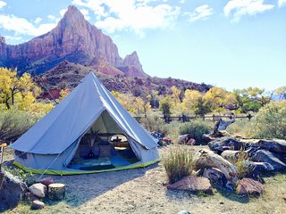 Luxury Camping Tents & Kits for ZION!! Maps to FREE local camping areas!, Hurricane