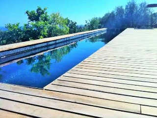 Cozy house with private pool in Genova for 6 people. Wif. Clear views. Palma de