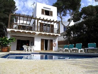 Villa for 6 people en Cala d'Or. TV Sat.  Private Pool. Mallorca. - Free Wifi