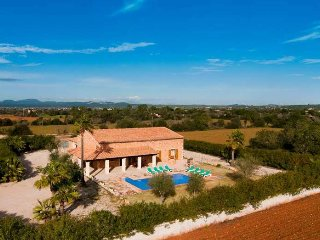 Chalet 8 pax 15 minutes from Es Trenc- Mallorca-   Private pool. Garden. Clear v