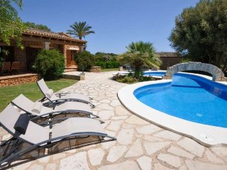 Villa 8 pax in Porto Cristo. Private Pool. 4 bedrooms. A/C. Mallorca -87012- - F
