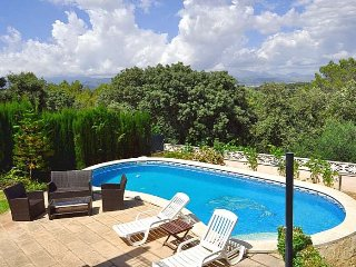 Villa 10 pax in Portol, Marratxi, Mallorca. Private pool. Mountain View. Billiar
