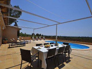 Finca for 6 people in Bunyola, Mallorca- Private Pool. Wifi. Air conditioner. BB