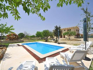 Majestic country house with private pool in Montuiri.
