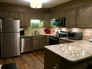 Newly Remodeled Kitchen with Granite and Stainless Appliances