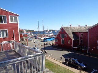 Downtown Lunenburg overlooking the harbour