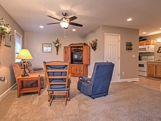 NEW! 1BR Gilbertsville Apartment on Kentucky Lake!