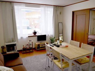 Hakodate 50㎡ 1bedroom cozy apartment with freeparking