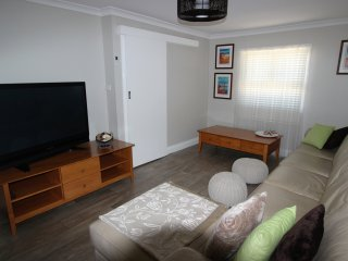Lounge with flat screen TV and DVD player