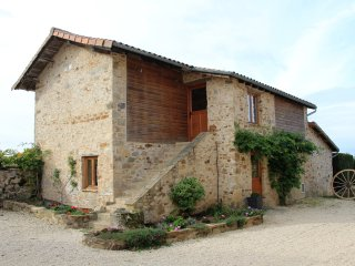 A cosy 1st floor, tastefully fitted gite with lovely rural views - as seen on TV