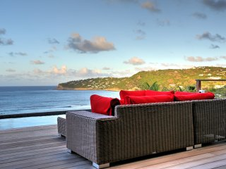 Villa Luana 3 bedrooms originally designed in a 60's style. Very classy, St. Barthelemy