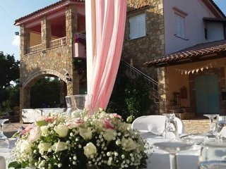 Amazing Wedding Venue near Ancient Olympia with Stone House