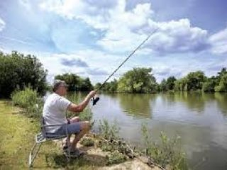 Heel visgebied in Carlton.
