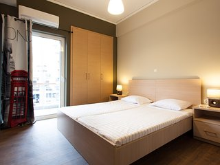 New 2-Bedroom Apartment in Athens close to metro