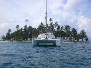 Catamaran for charter in San Blas Islands