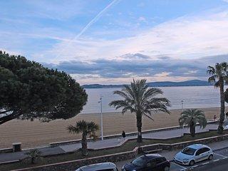 Appt 4 pers - Sainte-Maxime - Centre ville - Vue mer - Plage - WiFi