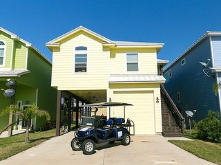 Serendipity: New Home, Private Pool, Close to Beach, FREE 6 SEAT GOLF CART, Port Aransas