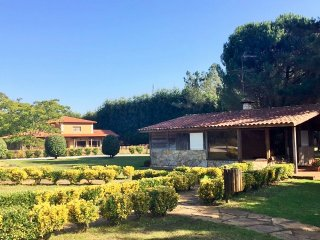 363 Cottage with shared garden and pool near Santiago