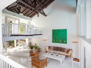 CAYE BLANCHE... elegant, spacious 7BR villa with sea views