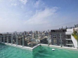 Brand New, Miraflores Luxury Executive Apartment 1412- departamentosamoblados.pe, Lima