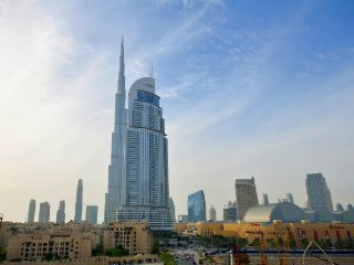 Studio Apartment next to Burj Khalifa : Burj Al Nujoom