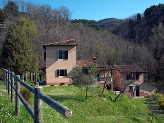Chiesetta: an intimate villa in the mountains of the Garfagnana, Tuscany.