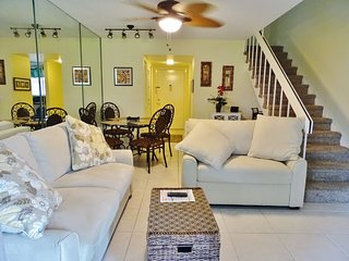 Darling updated multi-level unit in popular Island Resort Complex...close to the