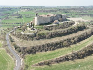 Emblematic  and stunning medieval fortress of Montfalcó Murallat CATALONIA