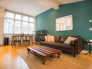 Central designer 1-Bd, with Terrace, Londres
