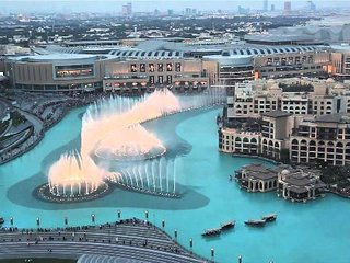 Luxury Furnished 2 Bedroom Apartment with stunning Fountain & Burj Khalifa View