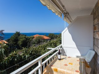 Apartments Villa Ana - One Bedroom Apartment with Balcony and Sea View (Apt 1)