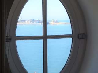 Appartment sun king with views of the bay of Saint Jean de Luz and the ocea