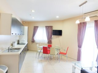 Modern flat between Valletta and Sliema, Msida