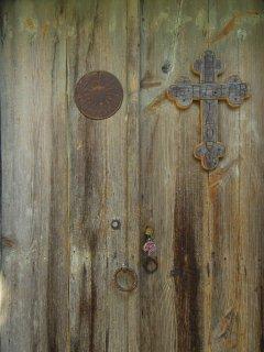 The Hayloft Studio door
