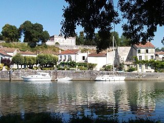 Beautiful French town house, steps from the river Charente