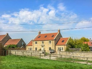 ST. HILDA'S HOUSE, stunning holiday home, six bedrooms, woodburners, Sky TV