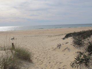 Beach apartment Praia Lota very close to beach; sea view /  Wifi, dog friendly