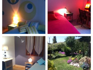 Jolie maison a la campagne avec jardin, jacuzzi - proche Lourdes et Pyrenees