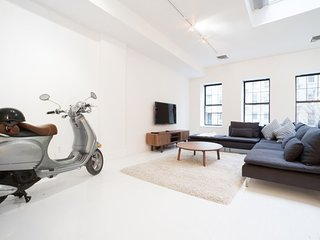 Airy 2 Bedroom SoHo Loft